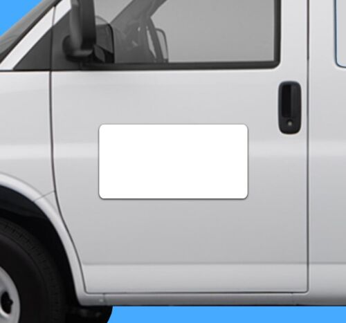 BLANK Heavy Duty Vehicle Magnet Truck Car Sticker Decal Sign Graphic