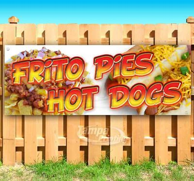 Frito Pies Hot Dogs Advertising Vinyl Banner Flag Sign Many Sizes