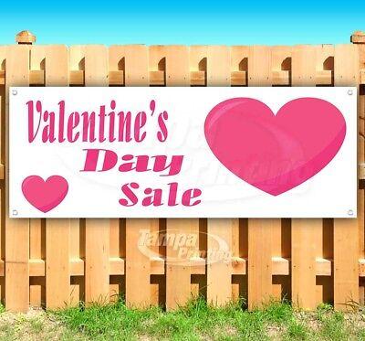 VALENTINE'S DAY SALE Advertising Vinyl Banner Flag Sign Many Sizes](Valentine Sale)