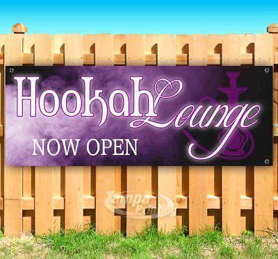 Hookah Lounge Now Open Advertising Vinyl Banner Flag Sign Many Sizes