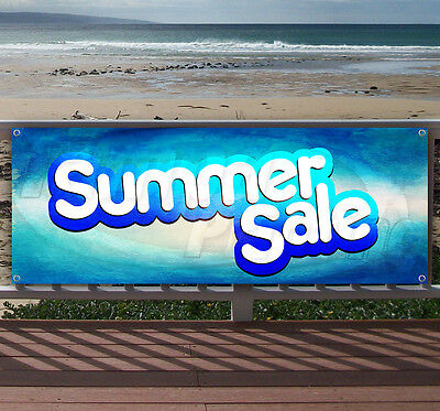 Summer Sale Advertising Vinyl Banner Flag Sign Many Sizes Available Usa