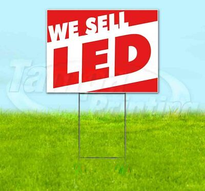 We Sell Led Yard Sign Corrugated Plastic Bandit Lawn Decoration Usa