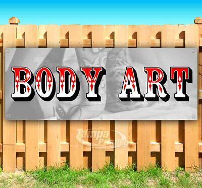 Body Art Advertising Vinyl Banner Flag Sign Many Sizes Available Usa Tattoos