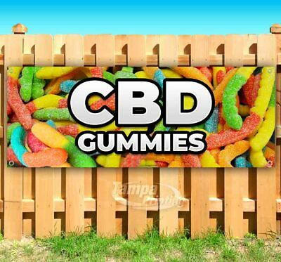 Cbd Gummies Advertising Vinyl Banner Flag Sign Many Sizes Available Usa Edibles