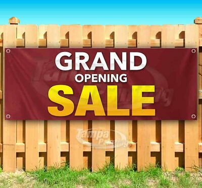 Grand Opening Sale Advertising Vinyl Banner Flag Sign Many Sizes Business Deals