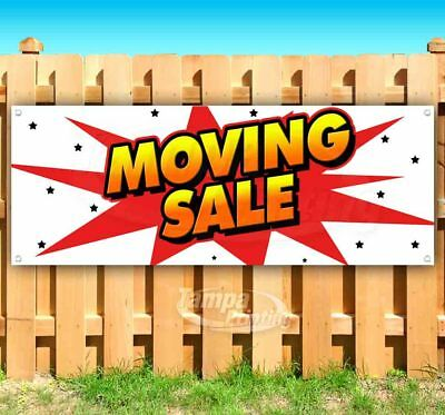 Moving Sale Advertising Vinyl Banner Flag Sign Many Sizes