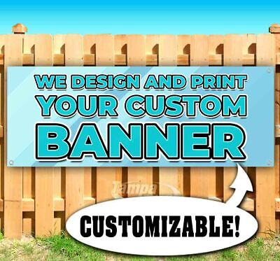 Custom Banners And Flags (WE DESIGN AND PRINT YOUR CUSTOM BANNER Advertising Vinyl Banner Flag Sign)