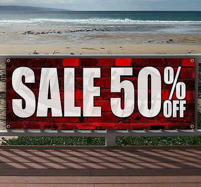 Sale 50 Off Advertising Vinyl Banner Flag Sign Many Sizes Available Usa
