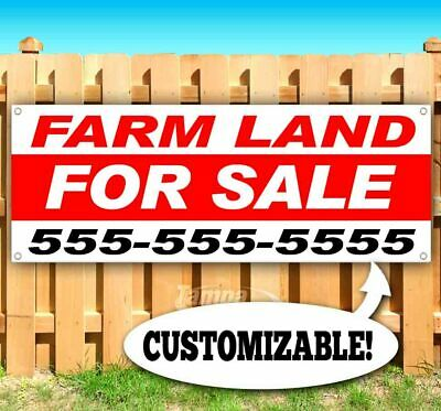 Farm Land For Sale Advertising Vinyl Banner Flag Sign Custom Ph