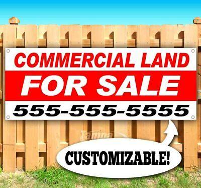 Commercial Land For Sale Advertising Vinyl Banner Flag Sign Custom Ph