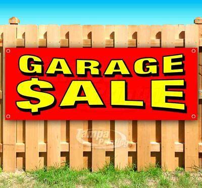 Garage Sale Advertising Vinyl Banner Flag Sign Many Sizes Yard