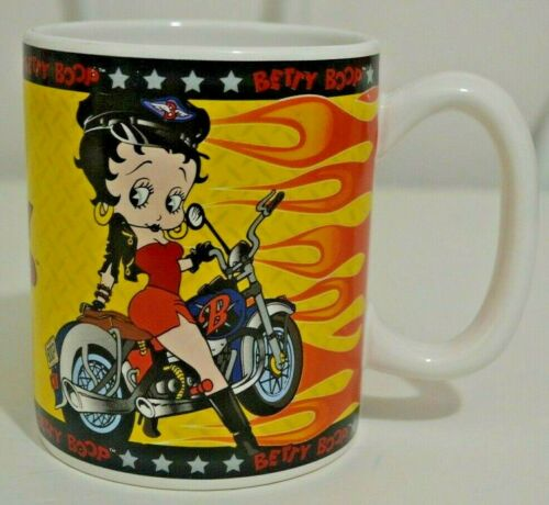 Betty Boop Motorcycle LIV 2 RYD Large Mug 2000