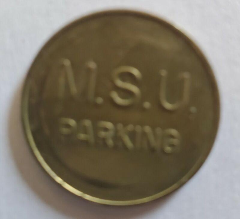 Vintage M.S.U. East Lansing, MI Parking Token - Michigan State University