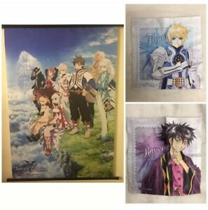 VERY RARE Tales Of Zestiria Collector's Wall Scroll Poster PS4