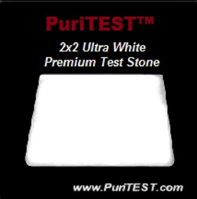 NEW WITH TAGS 1 WHITE ACID TEST STONE GOLD SILVER PLATINUM TESTING TOOL TESTER DETECT JEWELRY