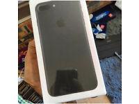 iPhone 7plus 128g black