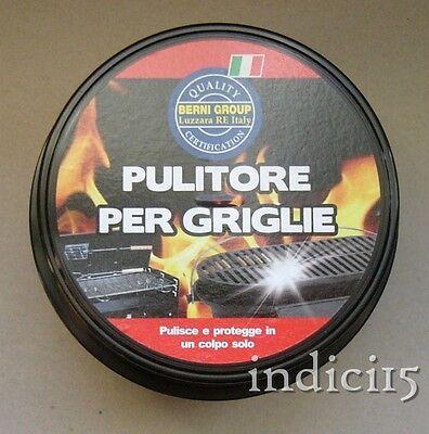 indici15 12pz Pulitore Sciogli Grasso Griglie Barbecue Padelle 400 g. bernigroup