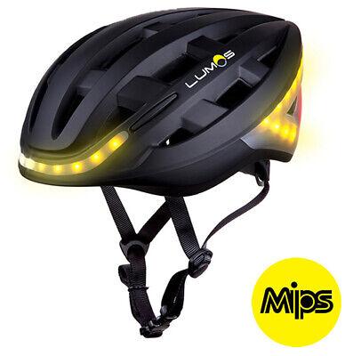 LUMOS Kickstart MIPS Casco Bicicleta Eléctrica LED Bliker Luz de Freno Black