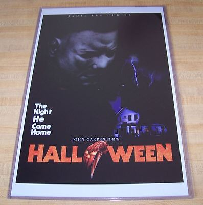 Halloween 11X17 Movie Poster Michael Myers Mask version