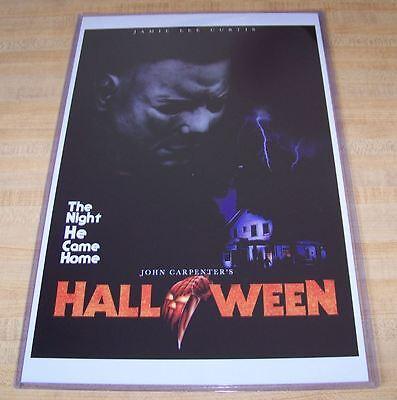 Halloween 11X17 Movie Poster Michael Myers Mask version - Halloween 11 Movie