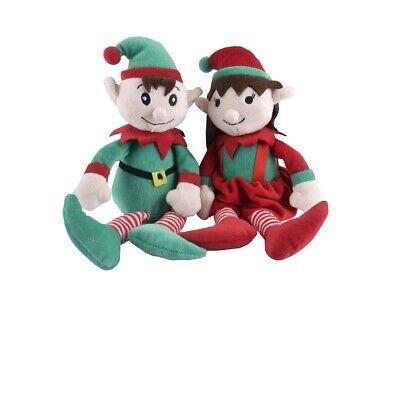 Plüsch Weihnachten Elfe Für Hundespielzeug Queitscher Junge Oder Mädchen Sold Je