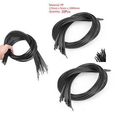 20x Bumper Special Electrode Pp Plastic Welding Rods For Welder Gunwelding Tool