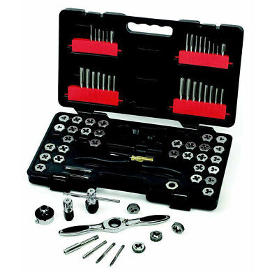 GearWrench 75-Pc SAE/Metric Ratcheting Tap and Die Drive Tool Set 3887 New ()