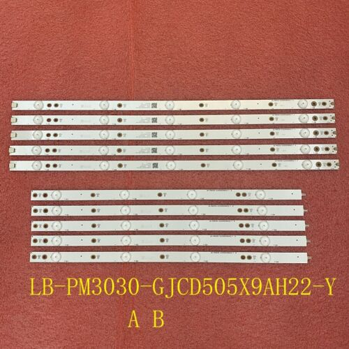 LED bar(10) For LE50U7970 50PUG6102/78 50PUF6102 LB-PM3030-GJCD505X9AH22-Y A B