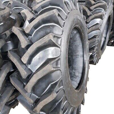 2-tires 15.5-38 12 Ply R1 Rear Farm Tractor Tirestubes 15.5x38