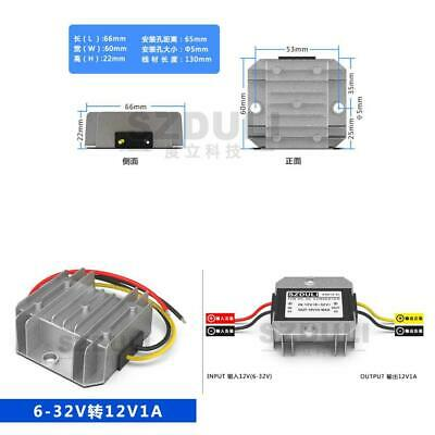 Universal Car 5-32v To 12v 1a Dc Power Voltage Regulator Stabilizer Converter