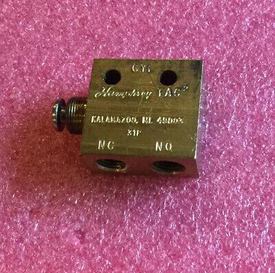 Humphrey Tac2 31p Pneumatic Switch