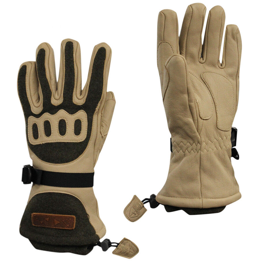 Nike ACG Transition Mens Gloves Sports Ski Beige 266098 295 UW44