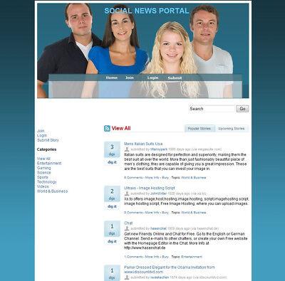 Social Network Website For Sale Money From Google Adsense Amazon Affiliate