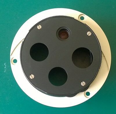 Zeiss Axiovert 135m Part Nosepiece 4x Equipped 520