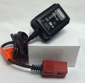 Power Wheels H4435 Dora Jeep Wrangler 6V Battery Charger For Red Battery Genuine