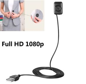 1080P Mini Button DVR Covert Discreet Cam Video Recording Hidden Spy Camera