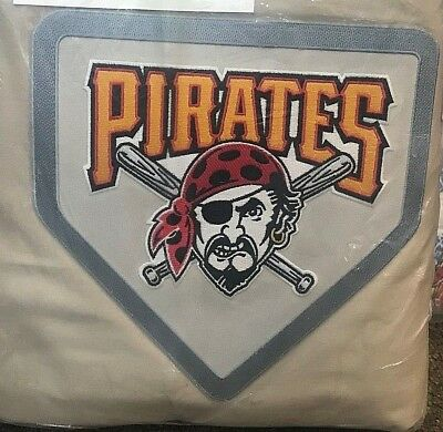 Mlb Baseball Bettwäsche (Pottery Barn Teen Pittsburgh Pirates FULL QUEEN duvet khaki MLB BASEBALL patch )