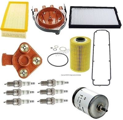 For BMW E34 535i 90-93 Tune Up Kit Filters Oil & Cabin & Fuel & Plugs Best