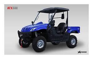 2016 ATOMIK ATX 500cc 4X4 UTV SIDE BY SIDE ATV QUAD DIRT AG Keysborough Greater Dandenong Preview