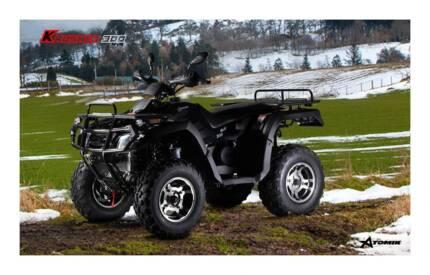2016 ATOMIK KRUSHER 300CC 4WD ATV QUAD DIRT MOTOR FARM TERRAIN