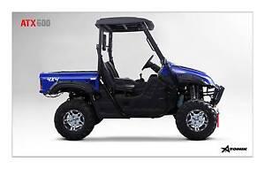 2016 ATOMIK ATX 600cc 4X4 UTV SIDE BY SIDE ATV QUAD FARM AG UTV Keysborough Greater Dandenong Preview