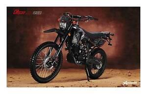2016 ATOMIK FURY XR 250CC PIT DIRT BIKE MOTOR TRAIL MX ENDURO Keysborough Greater Dandenong Preview