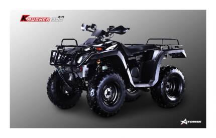 2016 ATOMIK KRUSHER 300CC 2WD ATV QUAD MOTOR BIKE TERRAIN FARM