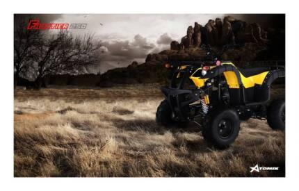 2016 ATOMIK FRONTIER 250CC ATV QUAD DIRT BIKE 4 WHEELER FARM