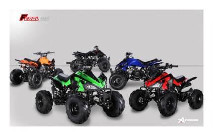 2017 ATOMIK FERAL 110CC ATV QUAD DIRT BIKE 4 WHEELER MX MOTORCROS