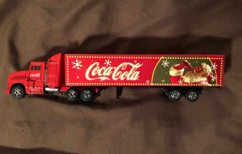 Coca-Cola Christmas Toy Semi Truck Caravan