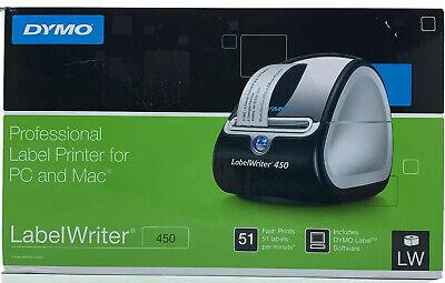 Dymo Labelwriter 450 Desktop Label Printer Direct Thermal Printer New - Open Box