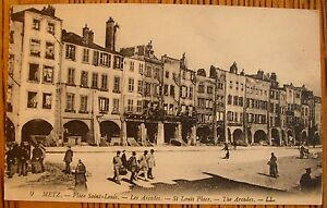 1910 metz france st louis place arcades antique levy - Ameublement saint louis metz ...