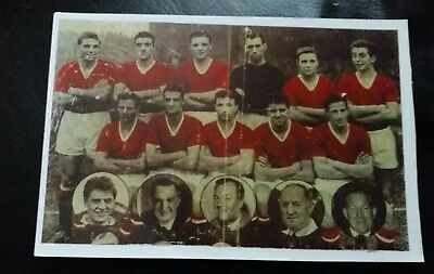 Manchester United Busby Babes - Team Photo
