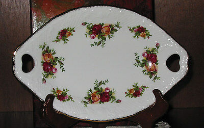 Royal Albert OLD COUNTRY ROSES Heart Hdl Tray